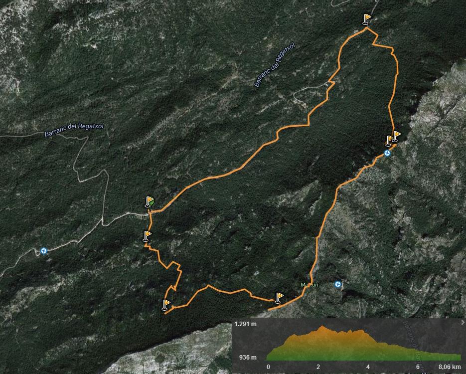 Escalada en el Parque Natural de Els Ports - Cresta del Marturi