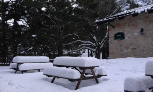 Nieve en el Mont-Caro